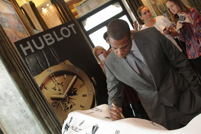 Jay-Z partnership with Hublot creates new limited edition watch Jay Z Hublot partnership launch signing  1