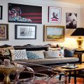 Decorating With Artwork eclectic living room 120x120