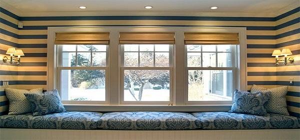 7 Show-stopping Bedrooms Like You've Never Seen horizontal stripe janet simon interir1
