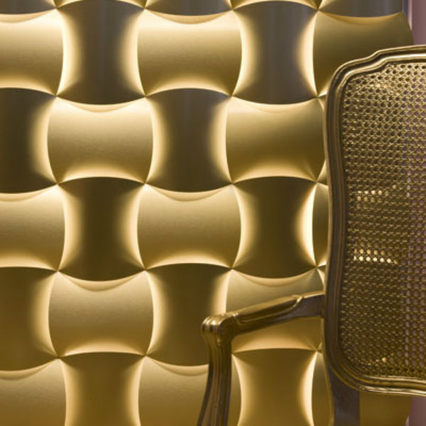 10 walls that will change your life 3 form gold aluminum laminate wall covering1