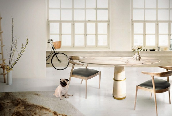 agra-dining-table-1  Look at these 10 round tables you wish to have dinner on agra dining table 1