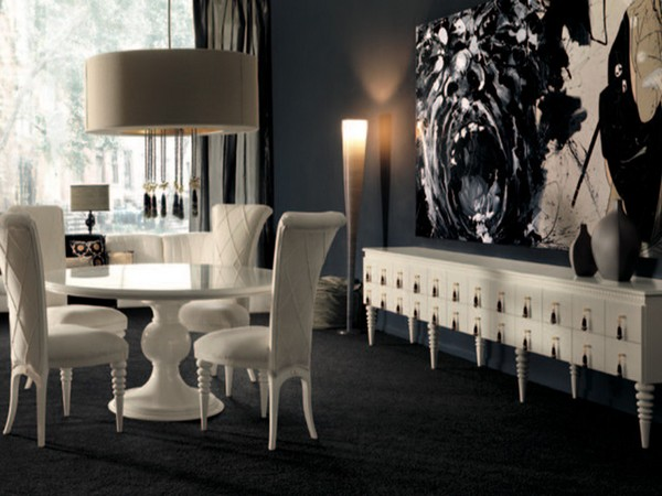 contemporary-dining-room  Look at these 10 round tables you wish to have dinner on contemporary dining room