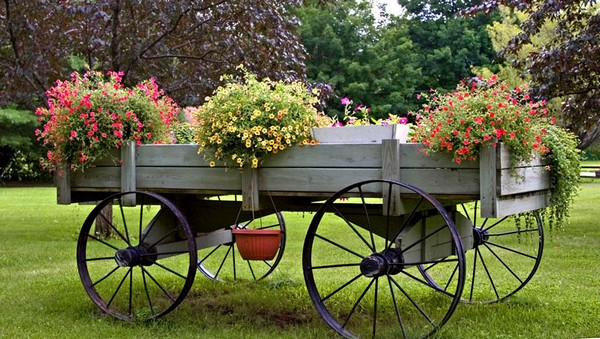 10 Beautifull décor ideas for your garden 115527336