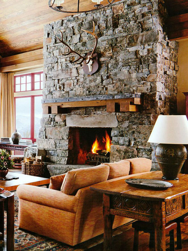 Bring the Cozy-Rustic to Your Interiors 56