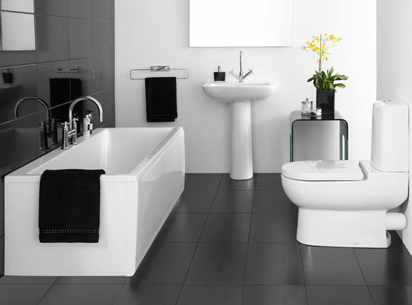 5  Black Bathroom Design Ideas 58