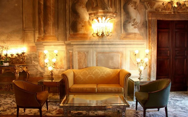 Luxury-living-room-design-Beautiful-crystal-pedant-lamp-rooms-and-classical-chairs-and-sure-fit-stretch-pique-slipcovers-for-Modern-victorian-living-room