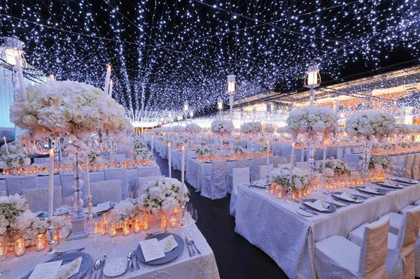 Choose the perfect lighting decoration for your wedding  Choose the perfect lighting decoration for your wedding PrestonBailey Indonesia Outdoor Reception Photography by John Labbe