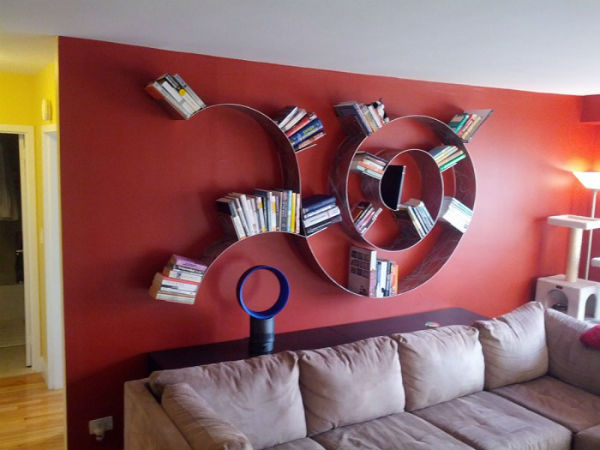 The 5 Most Creative Bookcases For Your Home 2