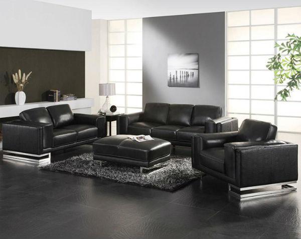 Black Inspiration Living Room Sets You'd Die For 2  Black Inspiration: Living Room Sets You'd Die For Black Inspiration Living Room Sets Youd Die For 2