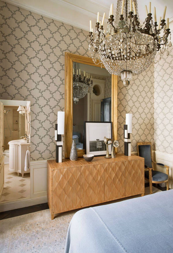 The Most Beautiful Gold Bedroom Mirrors Interior Decoration