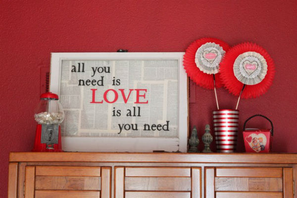 Prepare Your house For Valentine's Day 1