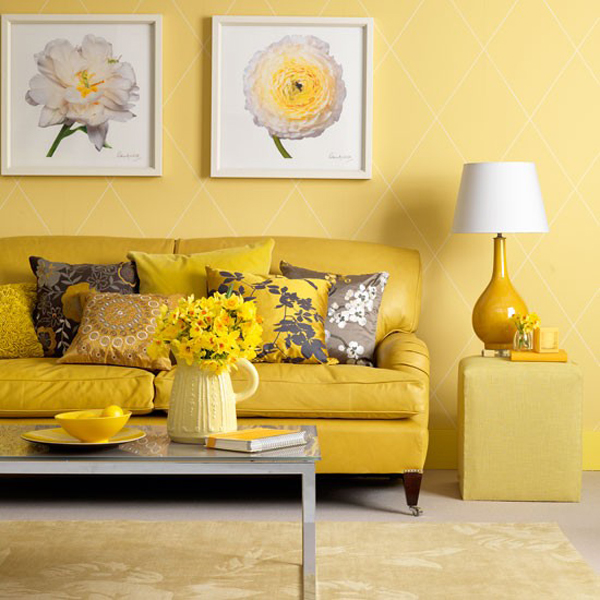 The Best Yellow Living Room Ideas The Best Yellow Living Room Ideas 7