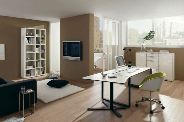 10 Home Office Color Schemes And Ideas Interior Decoration