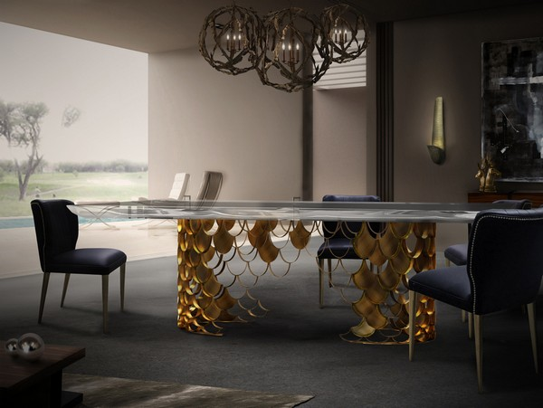 Find 10 luxury diningroom ideas at ICFF Heartcover 82