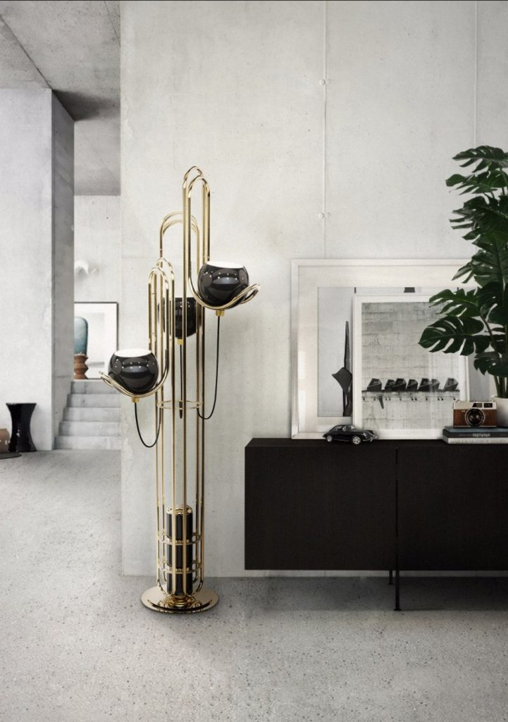 Celebrate Design With Modern Floor Lamps For Mid Century