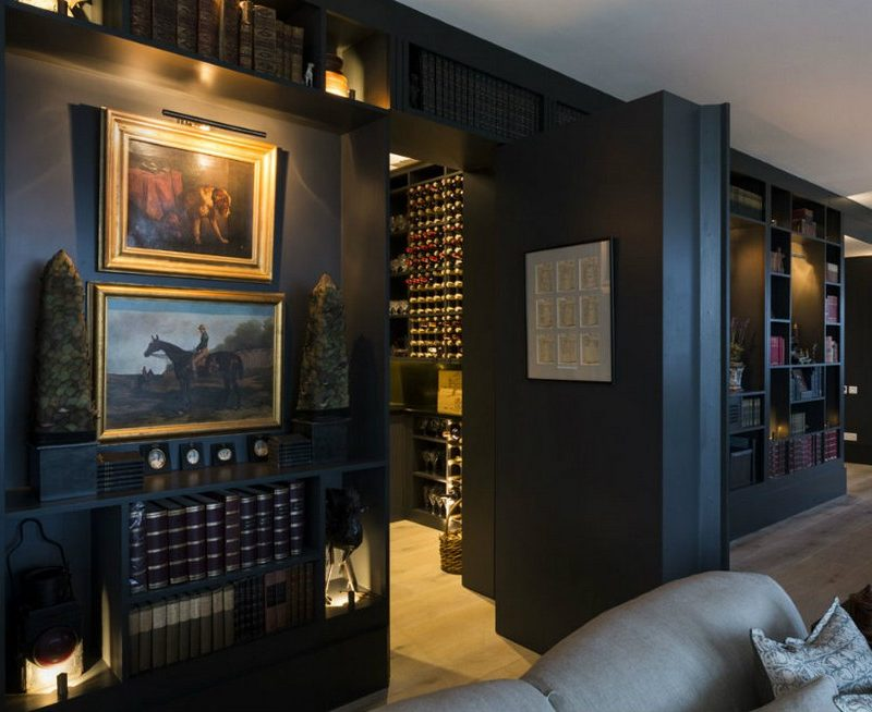 Modern trends luxury panic rooms interior decoration for Panic room plans