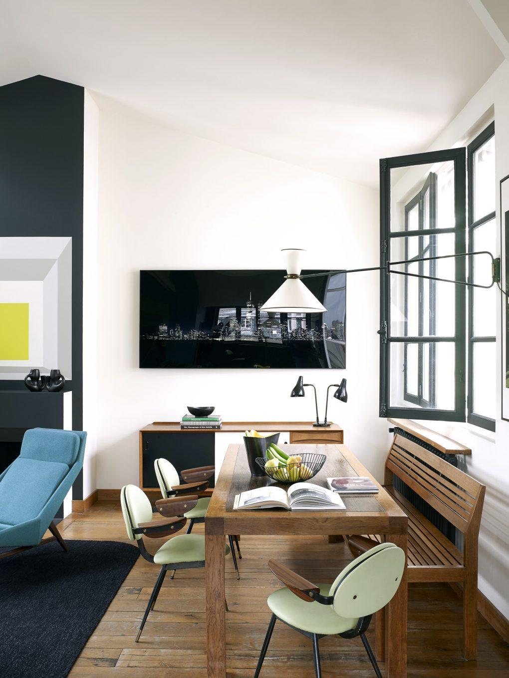 paris loft Inside An Eclectic Mix Of Furniture Paris Loft Inside An Eclectic Mix Of Furniture Paris Loft 4