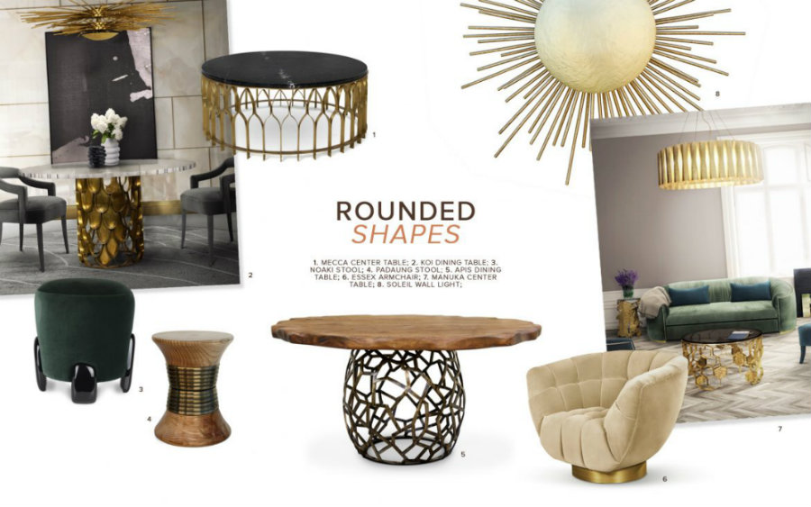 rounded shapes How To Apply Rounded Shapes To A Luxury Decor How To Apply Rounded Shapes To A Luxury Decor 1