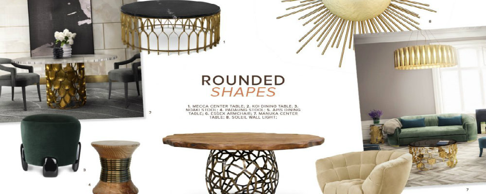 rounded shapes How To Apply Rounded Shapes To A Luxury Decor How To Apply Rounded Shapes To A Luxury Decor