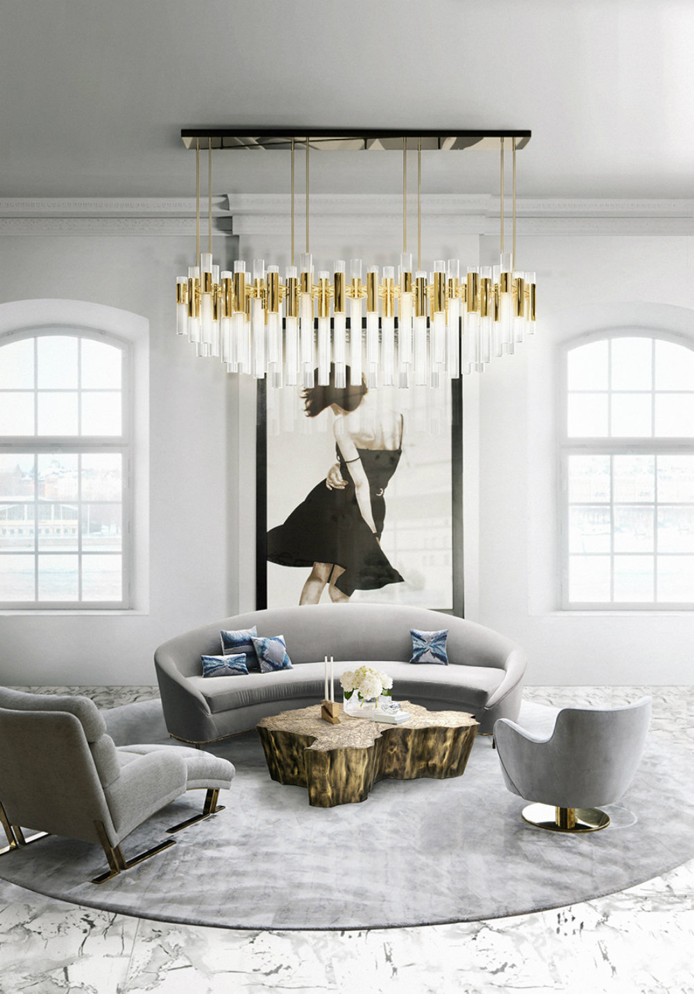 How To Pick The Perfect Chandelier Size  chandelier size How To Pick The Perfect Chandelier Size  How To Pick The Perfect Chandelier Size 3