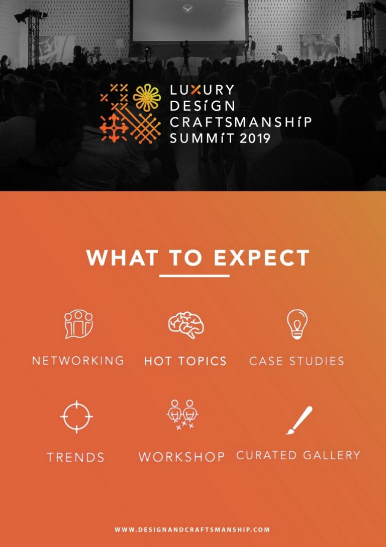 Luxury Design & Craftsmanship Summit 2019: Make Sure You Don't Miss It summit 2019 Luxury Design & Craftsmanship Summit 2019: Make Sure You Don't Miss It Luxury Design Craftsmanship Summit 2019 Make Sure You Dont Miss It 2