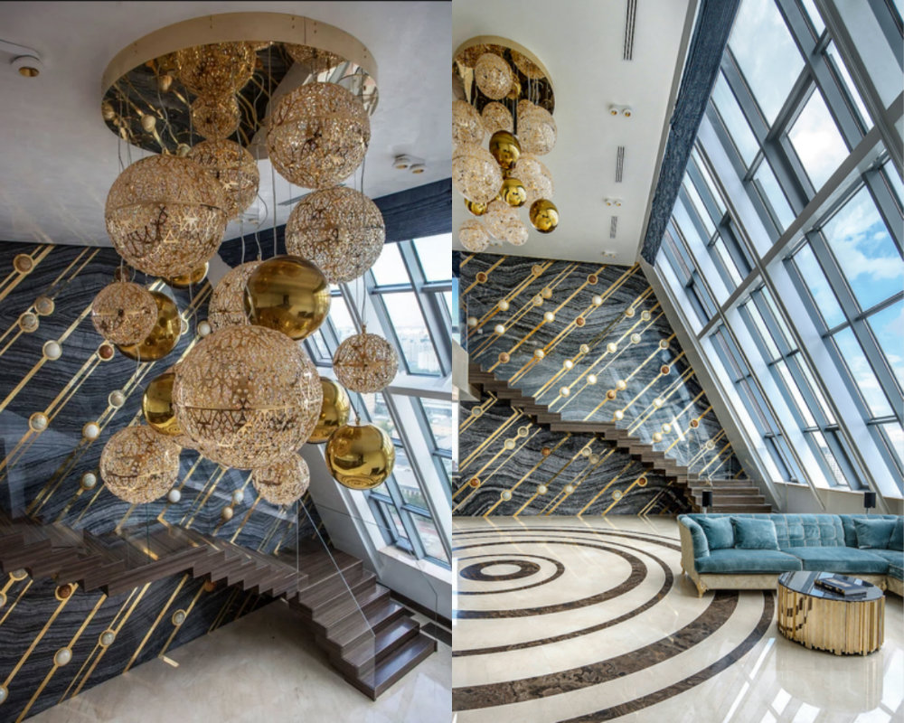 moscow GET INSPIRED BY THIS LUXURIOUS ROOFTOP PENTHOUSE IN MOSCOW Get Inspired By This Luxurious Rooftop Penthouse In Moscow 5